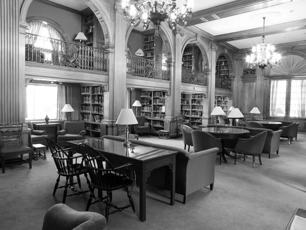 Sanborn House Library  Dartmouth College Photography Art | Eric Hatch