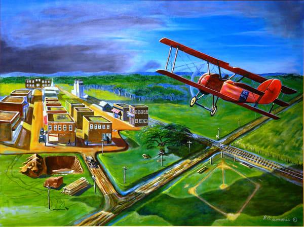 'flying The Iron Compass' Art   John Simonis Art Gallery