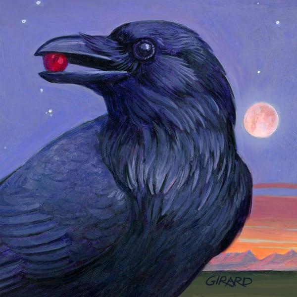 Raven Bird Block | Studio Girard