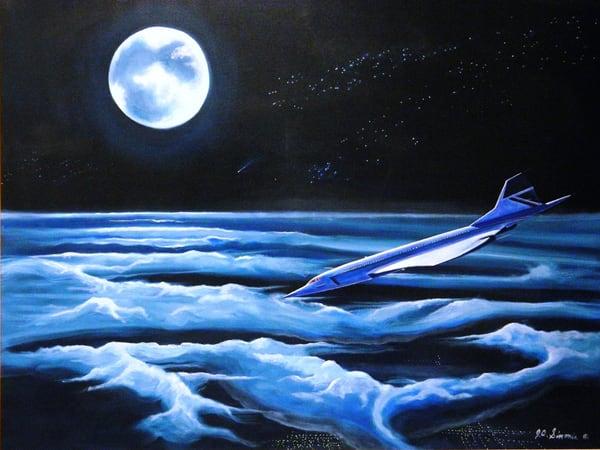 "'down From The Edge Of Space"" Art   John Simonis Art Gallery"
