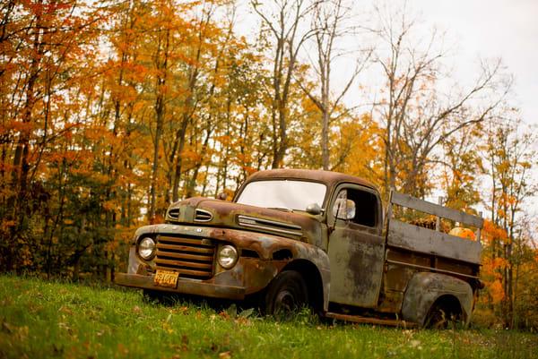 Old Time Pumpkin Hauler