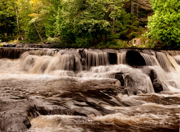 Bond Falls UP Michigan Waterfalls