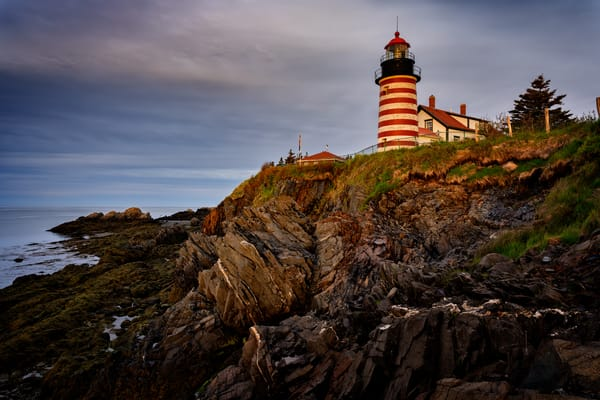 Cloudy Morning at West Quoddy Head | Shop Photography by Rick Berk
