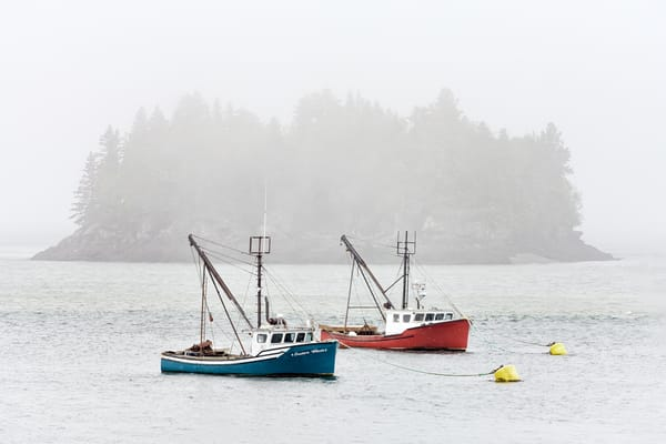 Harbor in the Mist | Shop Photography by Rick Berk