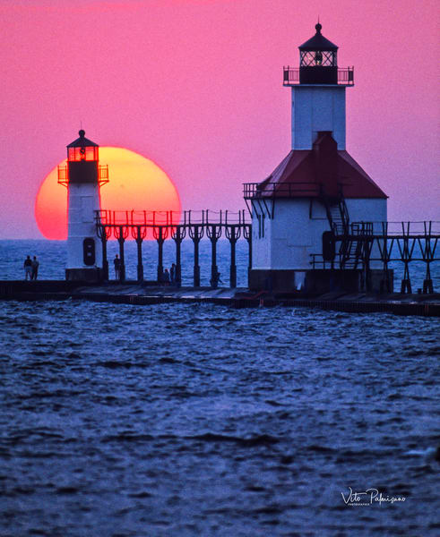 St Joseph Lighthouse Mi Photography Art | vitopalmisano