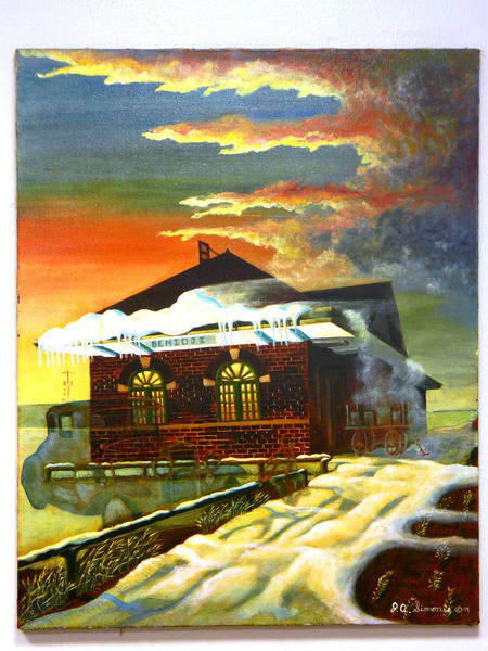 'bemidji Union Station' Art | John Simonis Art Gallery