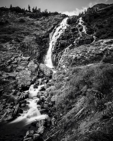 Waterfall, Sneffel Creek, Colorado, 2013