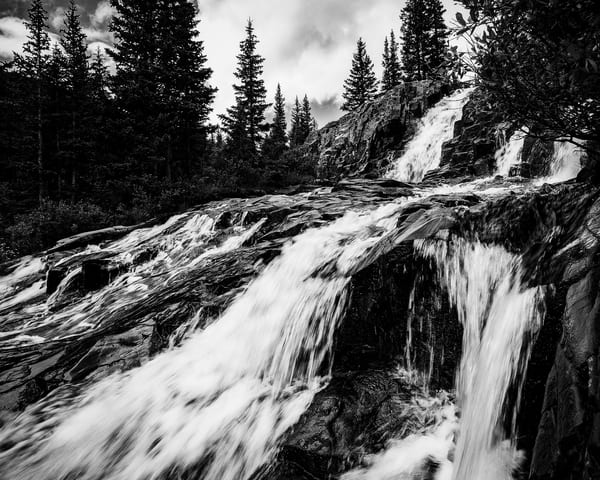 Twin Falls, Sneffel Creek, Colorado, 2013