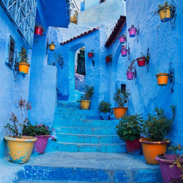 Blue Steps Photography Art | nancyney