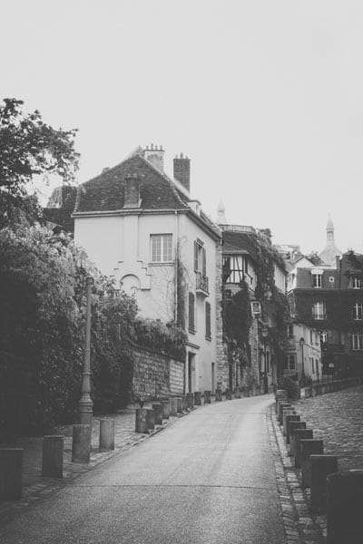 On the streets of Montmartre by Ivy Ho as Fine art photograph