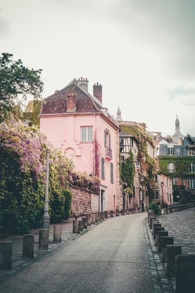 Montmartre in color by Ivy Ho as fine art photograph.