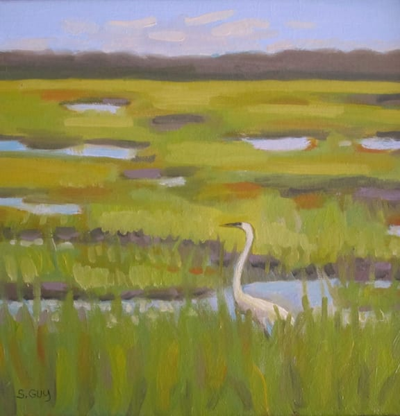 Marsh Scene Art | Sharon Guy