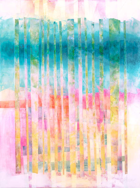 Bending Light - Abstract Painting | Cynthia Coldren Fine Art