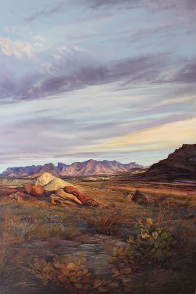 Lindy C Severns Art | Sparking the Desert's Inner Fire, print