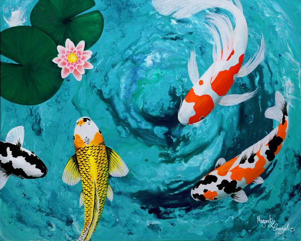 Water Garden Fine Art Print