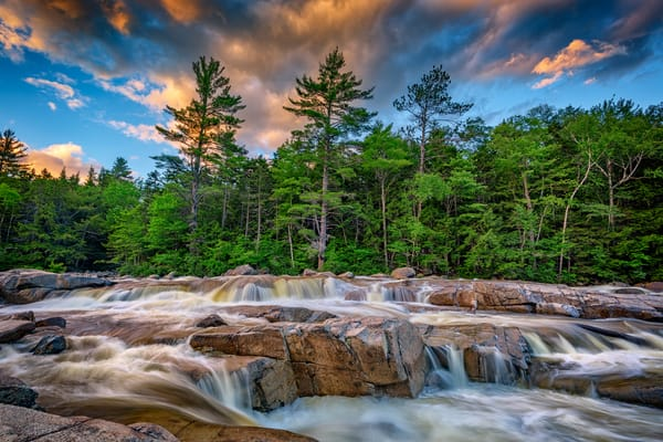 Lower Falls on Kancamagus Highway | Shop Photography by Rick Berk