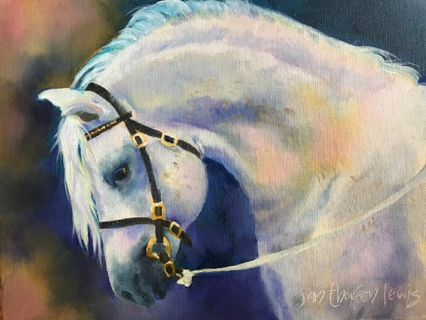 Horse Of A Different Color Art | Jan Thoreen Lewis Fine Art