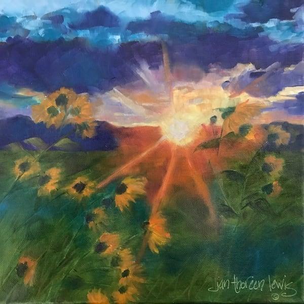 High Prairie Sunrise Art | Jan Thoreen Lewis Fine Art