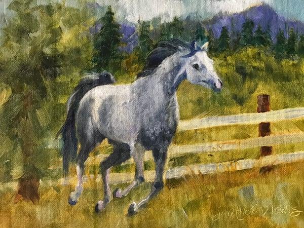 The Meadow Art | Jan Thoreen Lewis Fine Art