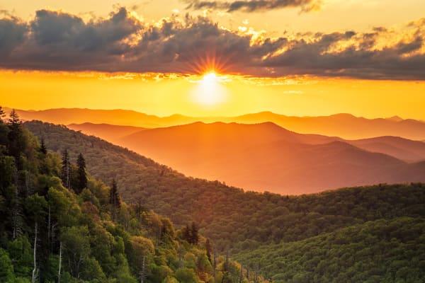 North Carolina Morning Art | Red Rock Photography