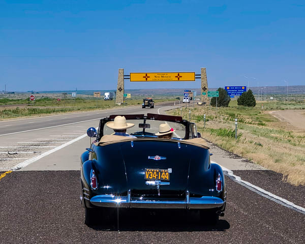 Leaving Texas On Route 66 Photography Art | Jim Livingston Art