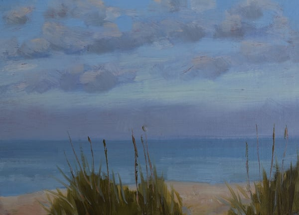 7am Sky   Original Oil Art | Sharon Guy