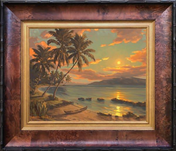Hawaiian Fish Pond ~ In Stock Framed Art | Daryl Millard Gallery LLC