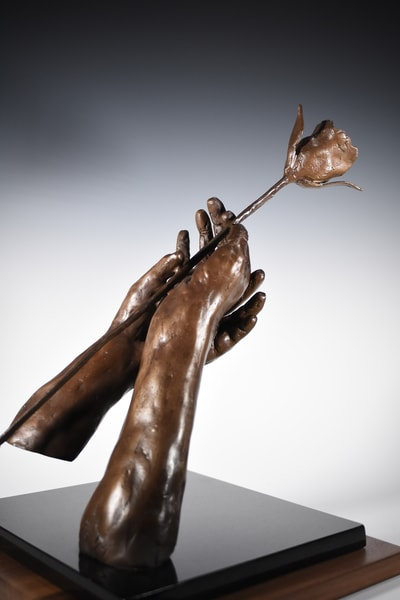 The Prayer   Cast Bronze Sculpture | Eduardo Gomez Gallery