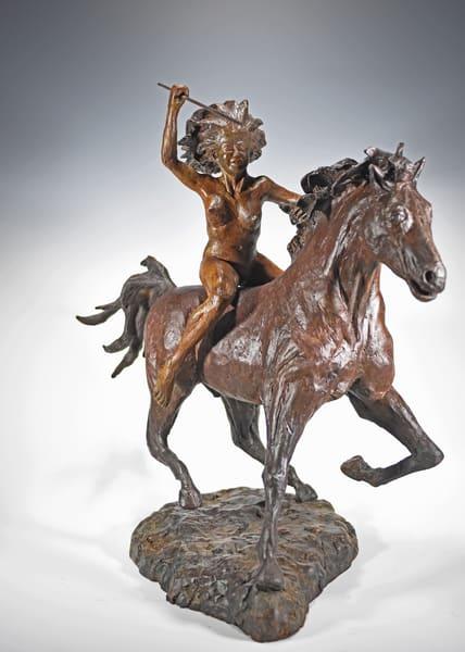 Boudicca   Cast Bronze Sculpture | Eduardo Gomez Gallery