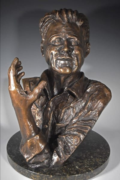 Brian - A Portrait in Cast Bronze