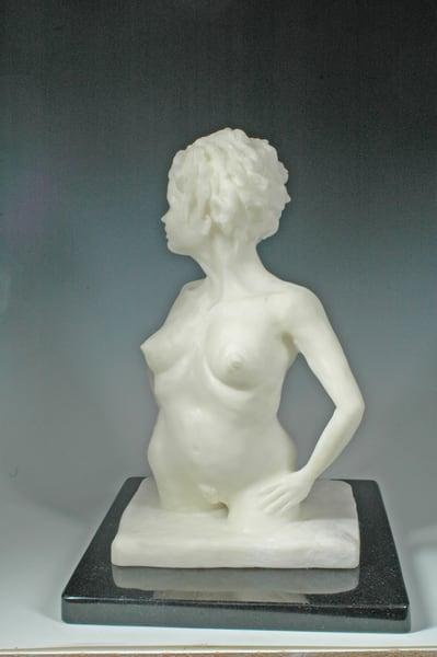 Andromeda - Bonded Marble Fine Art Sculpture