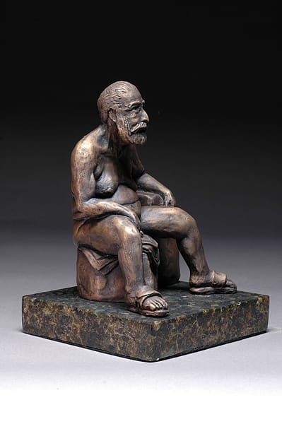 Frankly... Frank - Cast Bronze Sculpture of a Male Nude