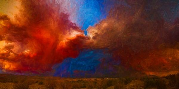 Sunset Storm, Cochiti Lake, Lightning