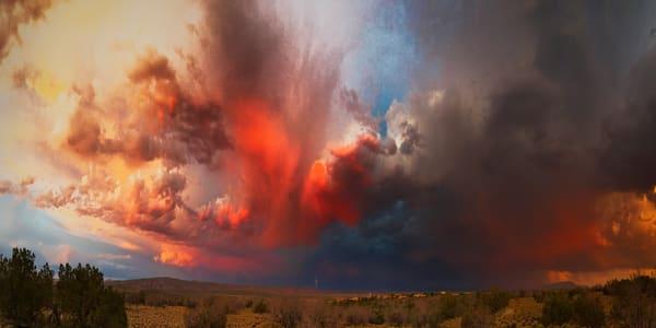Storm Clouds, painterly, Cochiti Lake NM