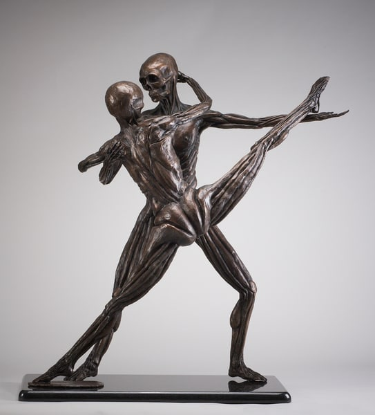 Soul Dance - Cast Bronze Sculpture by Eduardo Gomez