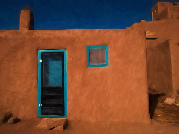 Entry, Taos Pueblo Photography Art | Nicholas King Photography