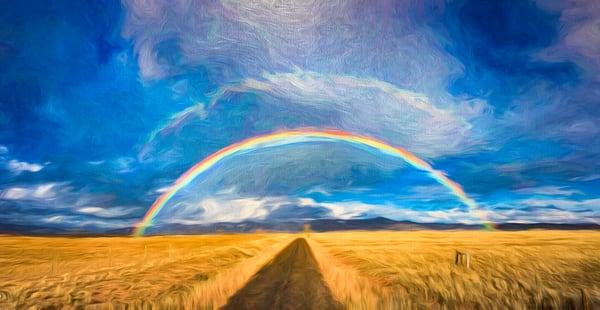Double Rainbow, Tetilla Peak, NM