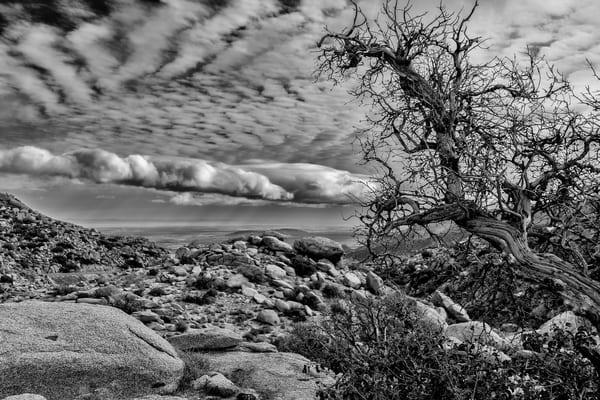 clouds, rocks, sky, desert
