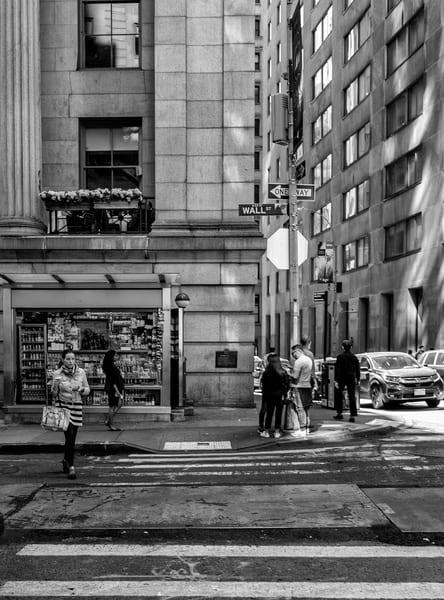wall street, girl, coffee, street, new york