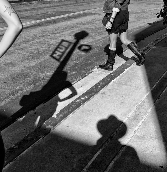 shadows, urban, legs, tattoo