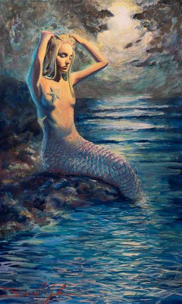 La Sirena Art | Danielsartwork