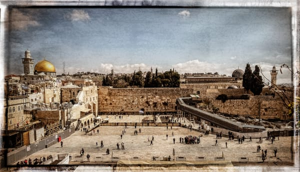 Jerusalem   Tuesday Morning At The Wall Photography Art | David Frank Photography