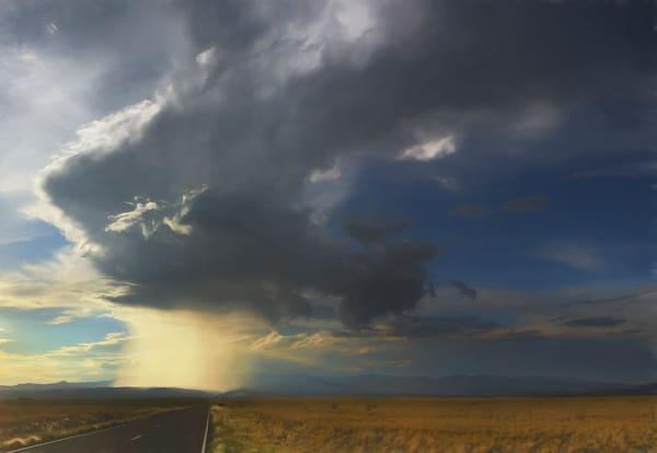 Highway 16, NM, Cloudburst