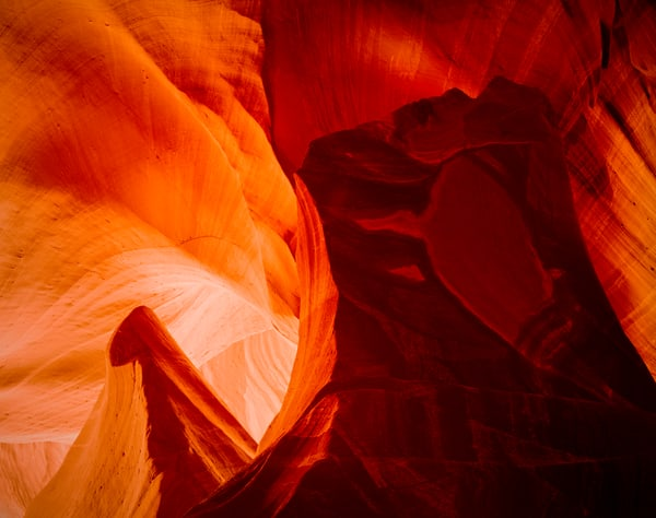 antelope-canyon, color, art