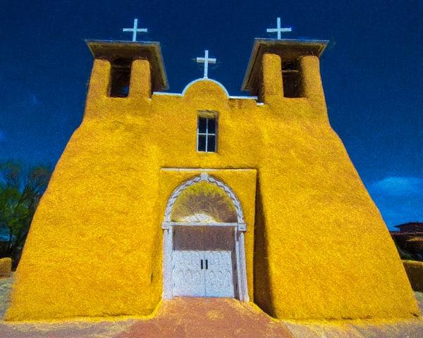 Taos, San Francisco de Asis Church, St Francis, rancho de Taos