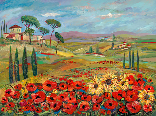 Tuscan Countryside/Open Edition Art   KenarovART Inc