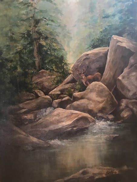 Lindy Cook Severns Art | Rio Bonito, original oil