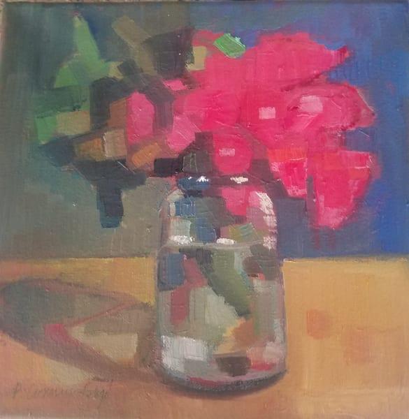 Bursting Bougain Amelia Art | Peg Connery-Boyd Artwork