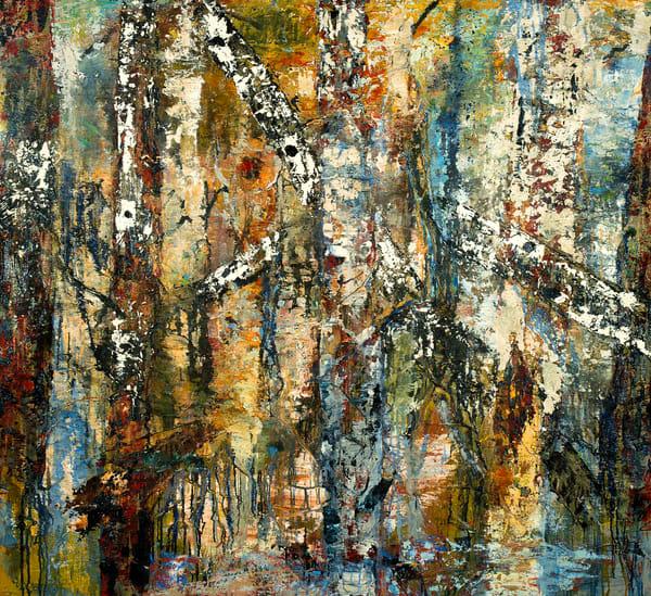 "Rumi's Ladder, 64x70"""