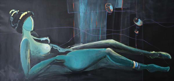 Woman In Repose Art | Merita Jaha Fine Art
